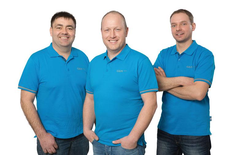 Team von Aumer Kälte- und Klimatechnik